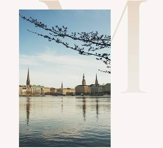 Hafenstadt Hamburg mit High Class Escort Hamburg Ausblick