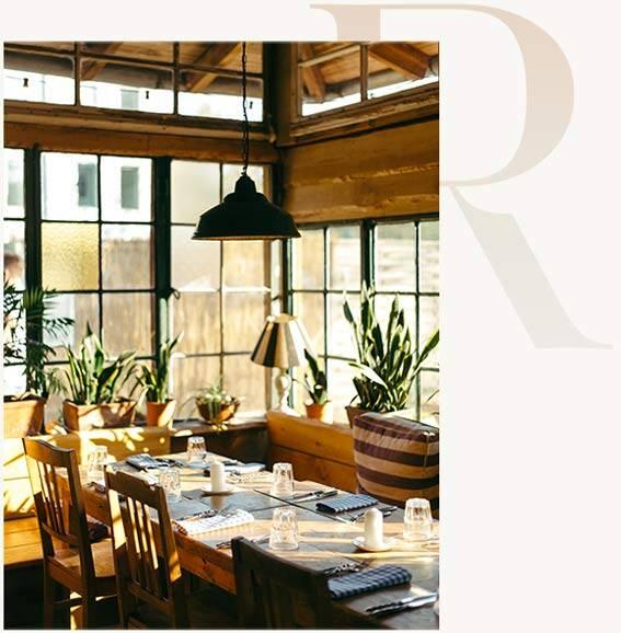 Essen gehen in Berlin, Restaurant von innen